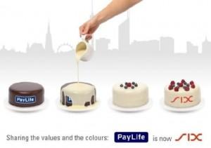 "Six freut sich über das ""Rebranding"" der geschluckten PayLife"